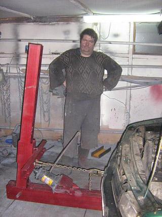 Стапель сделать своими руками видео для кузовного ремонта